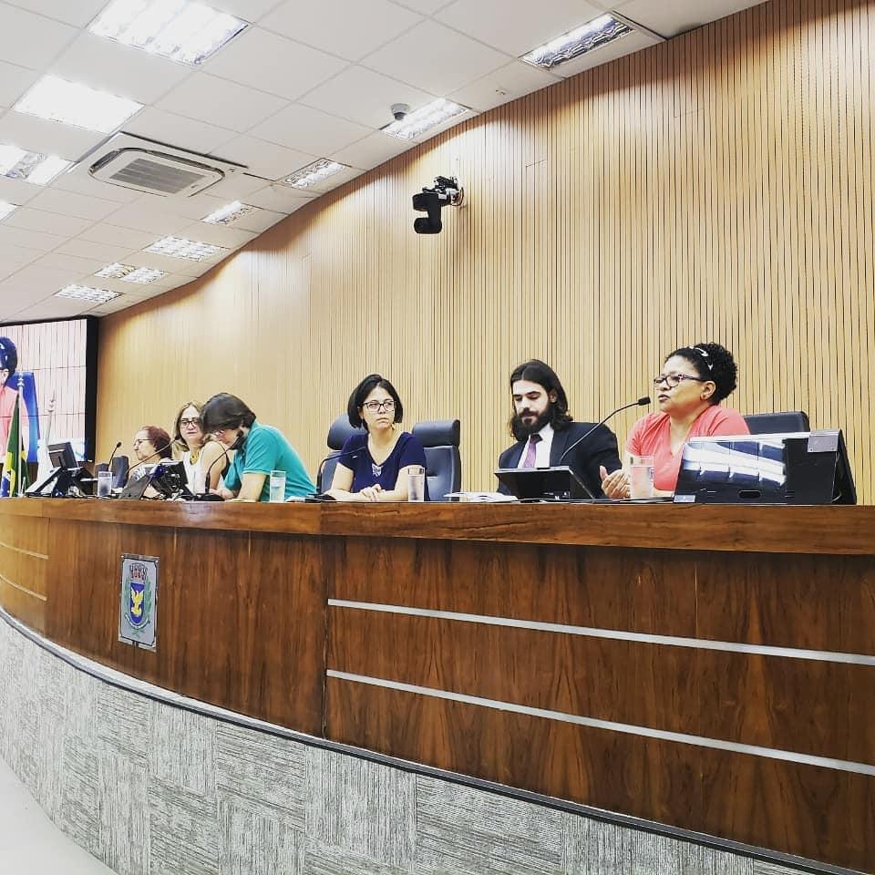 Audiência pública para viabilizar um projeto habitacional de moradia popular da ocupação Jardim Ytaiu
