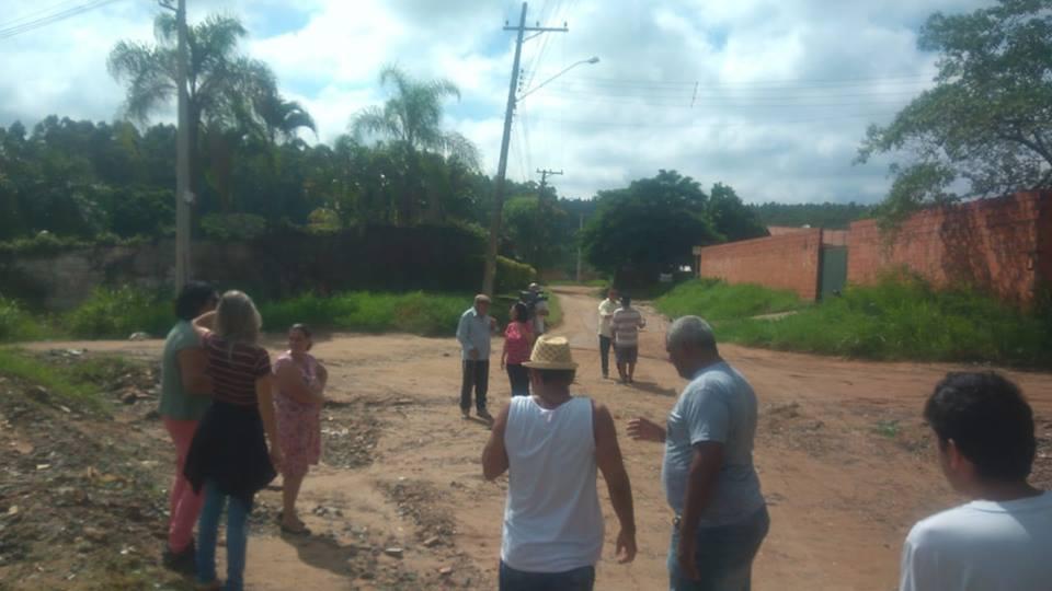 Por pavimentação no bairro Chácaras Cruzeiro do Sul!