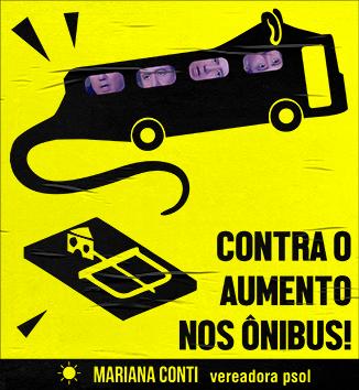 Contra o Aumento nos Ônibus!