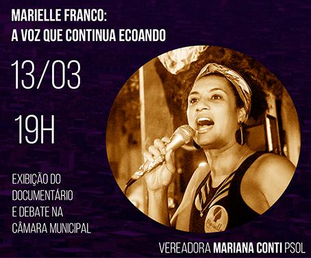 Marielle Franco: a voz que continua ecoando-Cinedebate