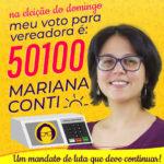 Está chegando o dia de votar 50100!