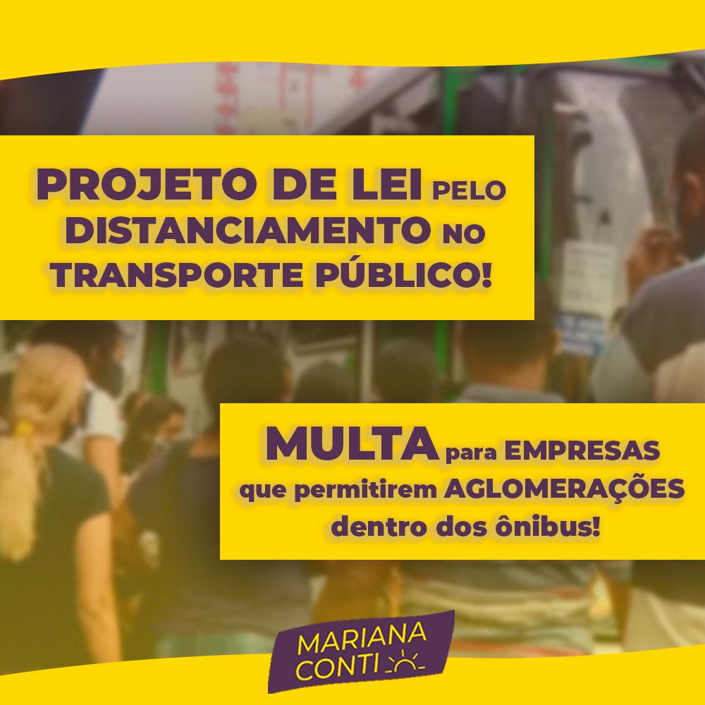 Mariana Conti propõe lei para acabar com a aglomeração nos ônibus de Campinas